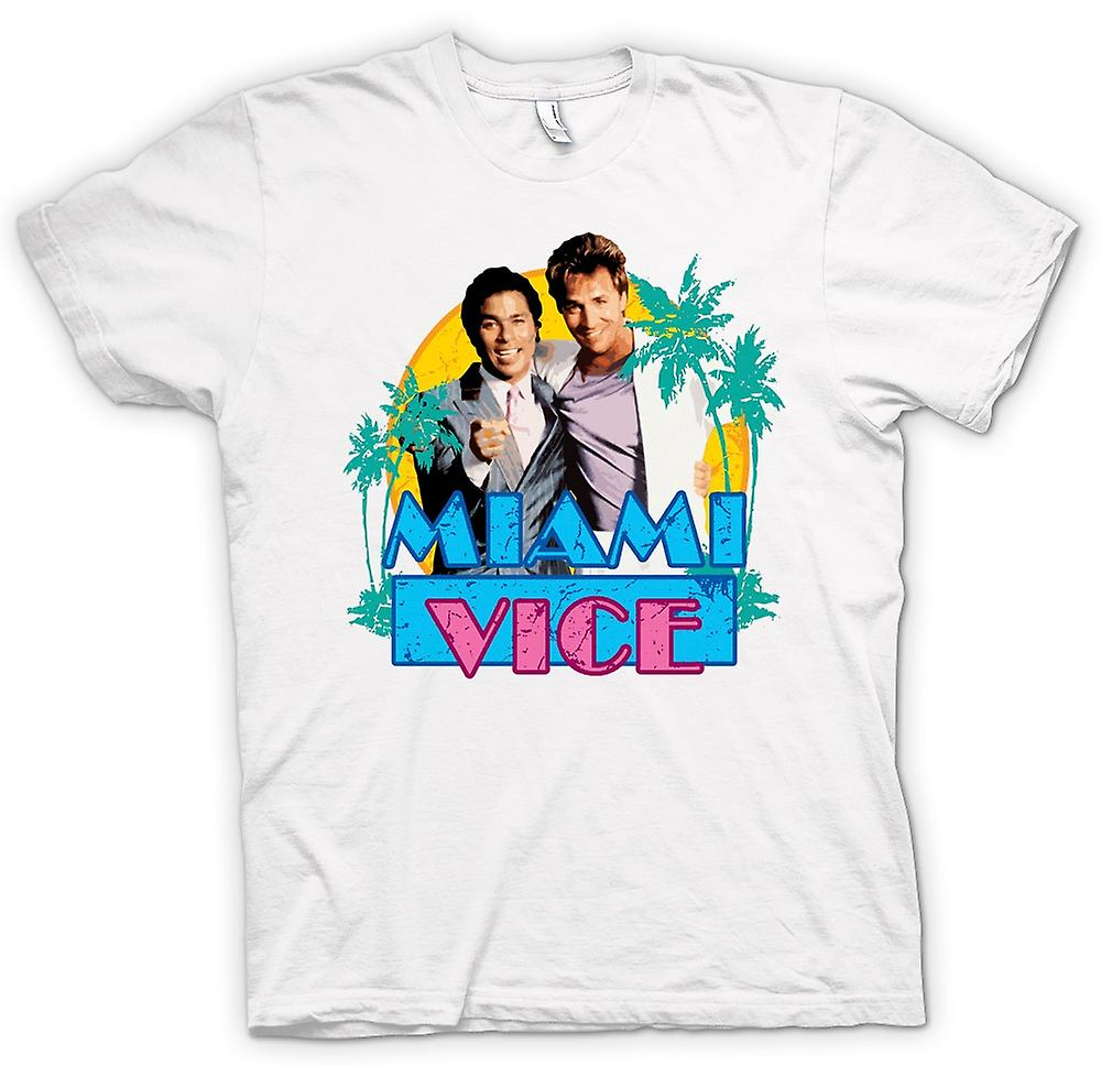 Womens T-shirt - Miami Vice - Crockett och Tubbs