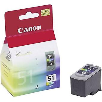 Canon Ink CL-51 Original Cyan, Magenta, Yellow 0618B001
