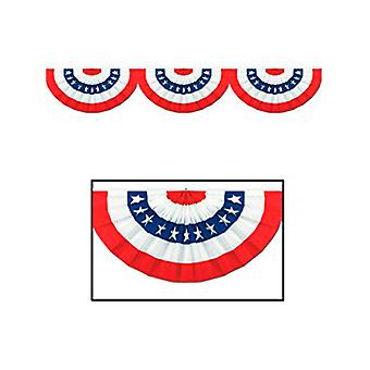 USA patriottico snodato cartone Bunting