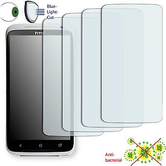 HTC one XL screen protector - Disagu ClearScreen protector (deliberately smaller than the display, as this is arched)