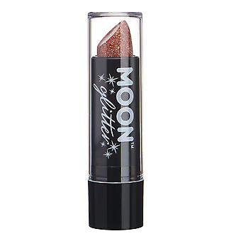 Holographic Glitter Lipstick by Moon Glitter - 5g - Rose Gold