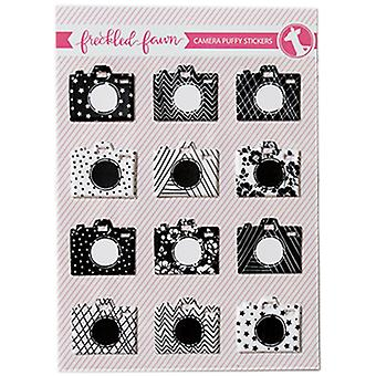 Freckled Fawn Puffy Stickers-Cameras