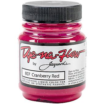 Jacquard Dye-Na-Flow Liquid Color 2.25oz-Cranberry