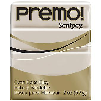 Premo Sculpey Polymer Clay 2oz-Rhino Gray