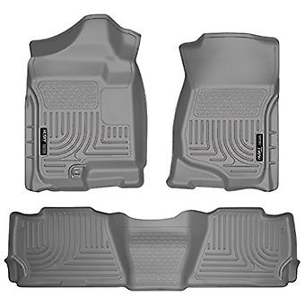 Husky Liners Front & 2nd Seat Floor Liners Fits 07-14 Suburban 1500/Yukon XL1500