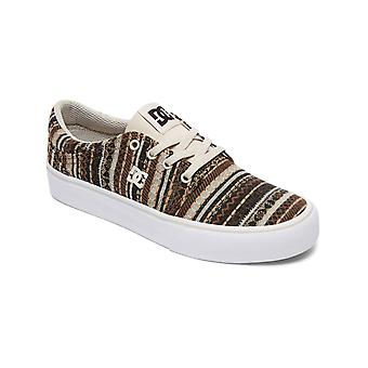DC Tan-Brown Trase TX Special Edition Womens Low Top Shoe