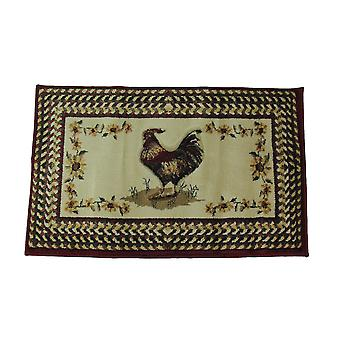 United Weavers Roosterfest Country Farmhouse Area Rug 22 X 36 Inches
