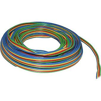 BELI-BECO L418/50 Strand 4 x 0.14 mm² Green, Red, Yellow, Blue 50 m