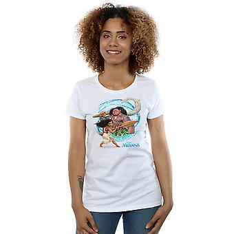 Moana et les Maui vague T-Shirt Disney féminines