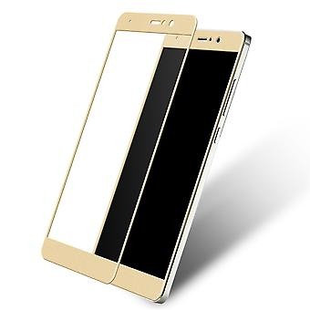 Xiaomi Redmi note 5A 3D armoured glass foil display 9 H protective film covers case gold