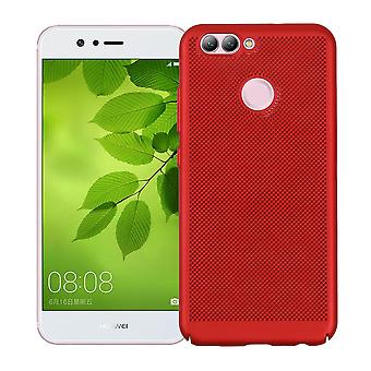 Mobile Shell pour Huawei Nova 2 manches affaire sac Housse Etui rouge