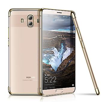 Cell phone cover case for Huawei mate 10 Pro transparent transparent gold