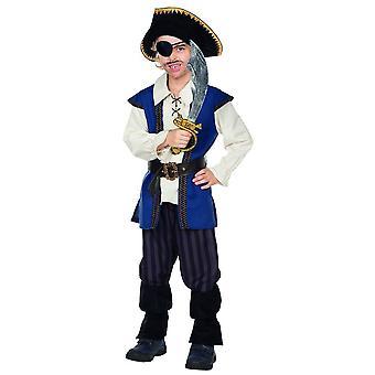 Jack pirata Disfraces carnaval tamaño 104 los niños carnaval Corsair