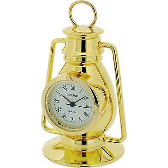 Geschenk-Produkte Hurrikan-Lampe Miniatur Stempeluhr - Gold