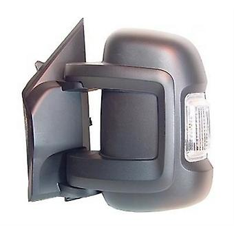 Left Mirror (manual 5W indicator) FIAT DUCATO Bus 2006-2017