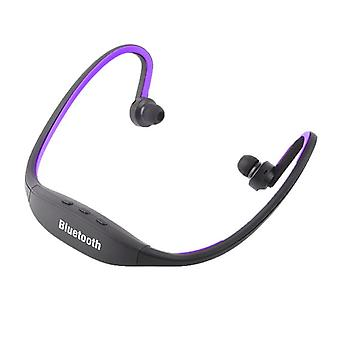 Bluetooth Headset-Sport versie-eenvoudige installatie-paars