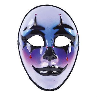 Harley Mask W/Tear (G/F)