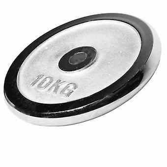 Poids disque chrom� 10 kg