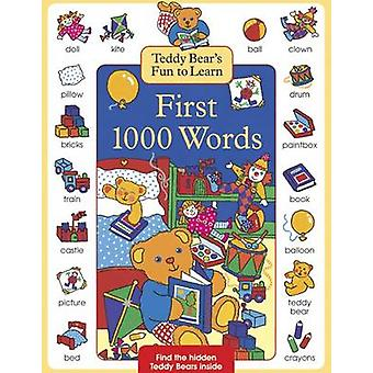 Teddy Bears Fun to Learn First 1000 Words by Nicola Baxter - Susie La