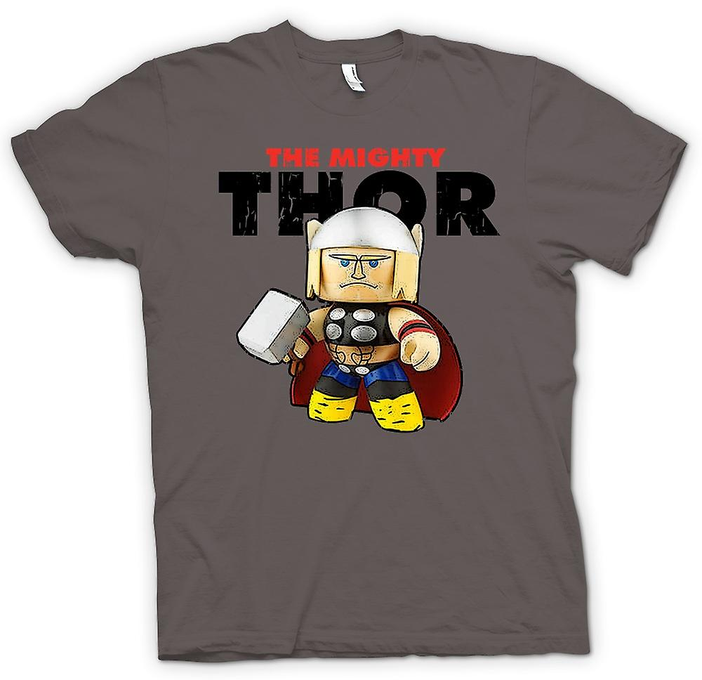Heren T-shirt-The Mighty Thor schattig