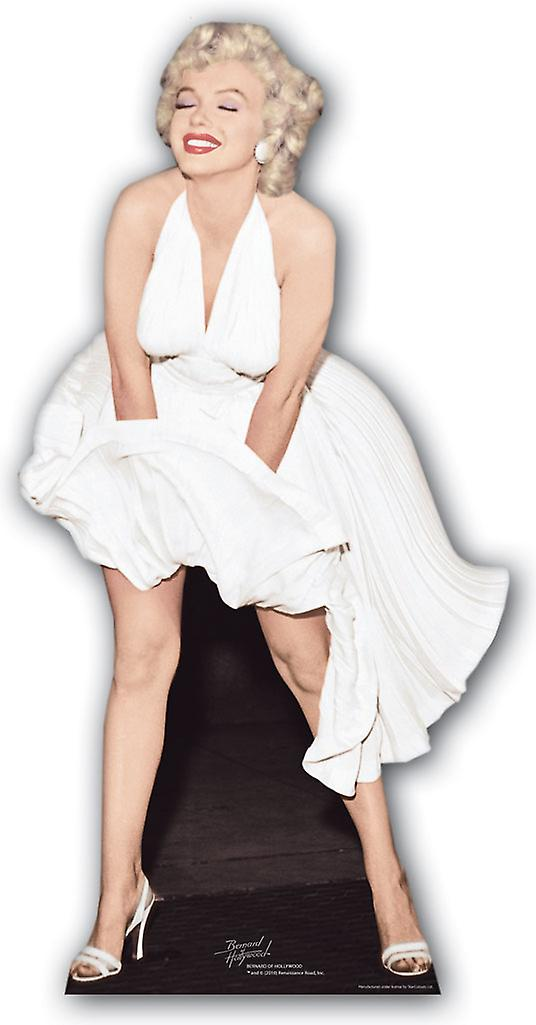 Marilyn Monroe Classic White Dress Blowing Up - Lifesize Cardboard Cutout / Standee