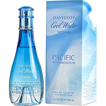Davidoff Cool vann kvinne Pacific sommer Edt 100 ml