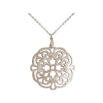 Gemshine Women ' s yoga Mandala i sølv, høy kvalitet gullbelagt eller Rose