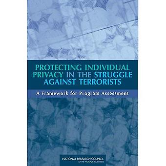 Protecting Individual Privacy in the Struggle Against Terrorists: A Framework for Program Assessment
