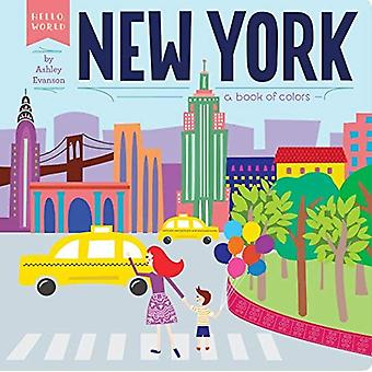 New York: En bok av färger (Hej, världen)