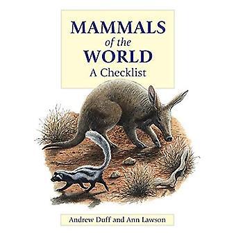Mammals of the World: A Checklist
