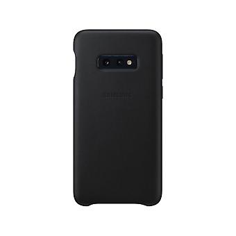 Samsung leather cover black for Samsung Galaxy S10e G970F EF VG970L bag case protective cover