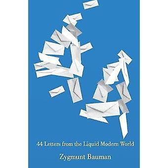 44 brev fra flytende moderne verden av Bauman & Zygmunt