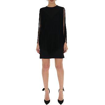 Stella Mccartney Black Viscose Dress
