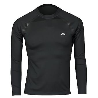 RVCA Mens VA Sport LS Compression Shirt - Black