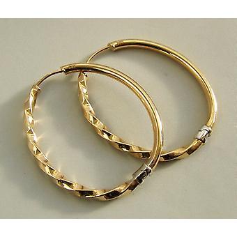 Gold 14 k Creoles