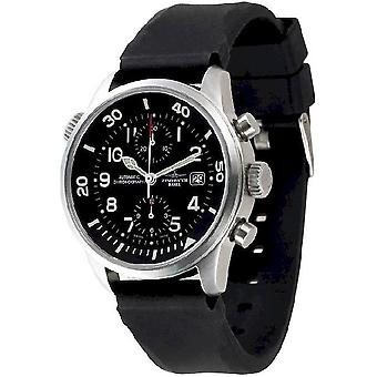Zeno-watch mens watch fellow Bicompax Chrono 6304BVD-a1