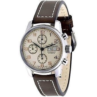 Zeno-watch mens watch classic chronograph-date 6557TVDD-f2