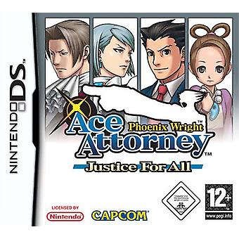 Phoenix Wright Ace Attorney - Justice For All (Nintendo DS)