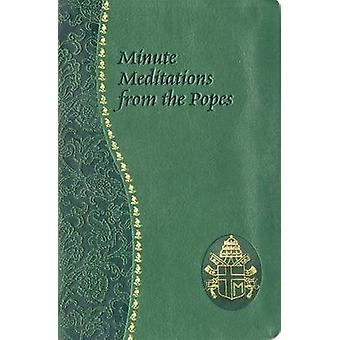 Minute Meditations from the Popes by Jude Winkler - 9780899421759 Book