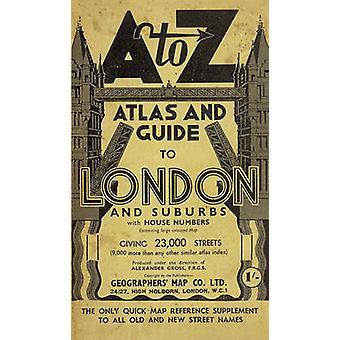 London Street Atlas (Historical ed.) by Geographers' A-Z Map Company