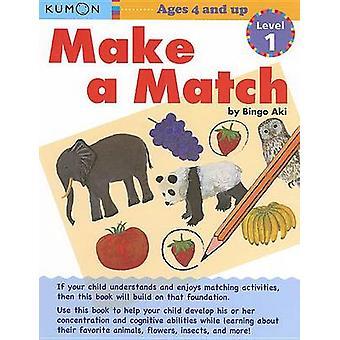 Make a Match - Level 1 by Bingo Aki - 9781935800248 Book