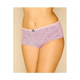 5 PACK Black, Pink, Mint, Purple & Teal Printed And Plain Shorts