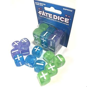 Fate Dice Accelerated Core 12 Dice Dice Set