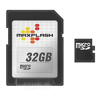 32GB klasse 4 micro SD Card + SD adapter + geheugenkaart Maxflash