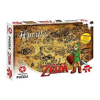 Legenden om Zelda Hyrule Field 500 bit pussel