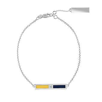 California Berkeley -University Of Diamond Bar Bracelet In Blue And Yellow