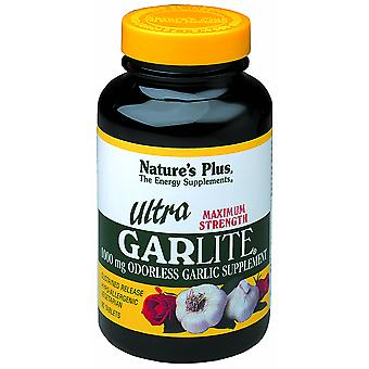 Natures Plus ULTRA GARLITE SUSTAINED RELEASE 1000 MG TABLETS 90
