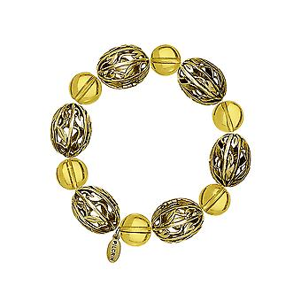 Pilgrim Ladies´ bracelet :filigree brown/gold (493502)