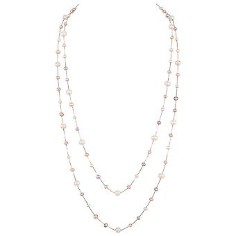 Eternal Collection Pearls Of Wisdom Freshwater Pearl Sterling Silver Necklace