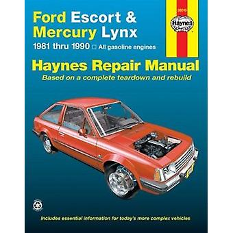 Ford Escort & Mercury Lynx (81-90) Automotive Repair Manual (6th Revi